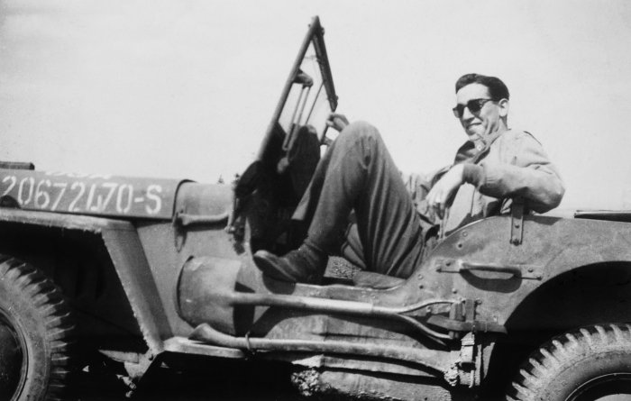 J.D. Salinger, date unknown