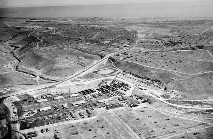Aerial View of the Jamboree in 1953