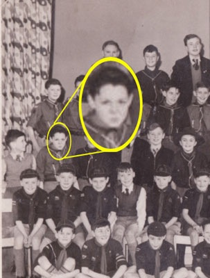 Paul McCartney with Scouts.